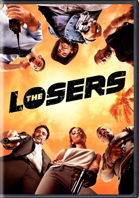 <strong><em>The Losers</em></strong> DVD artwork