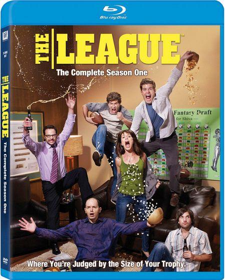 <strong><em>The League</em></strong>: The Complete Season 1 Blu-ray artwork