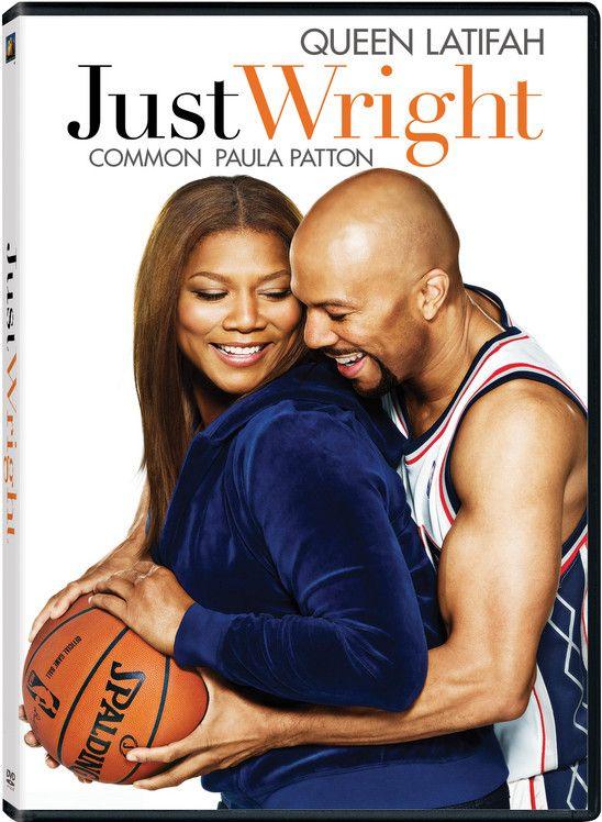 <strong><em>Just Wright</em></strong> DVD artwork