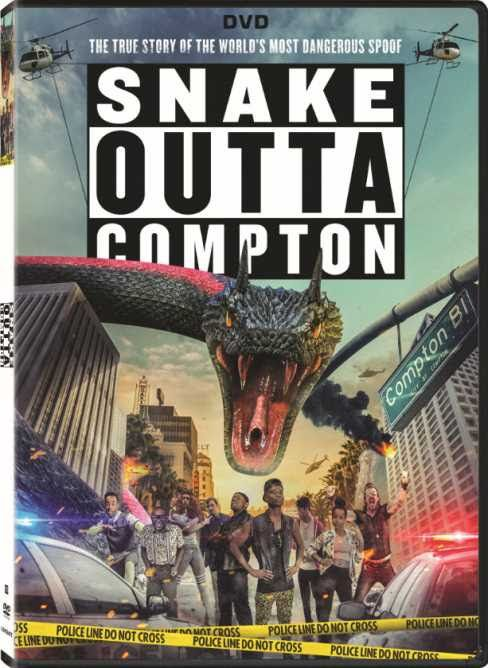 <strong><em>Snake Outta Compton</em></strong> DVD cover