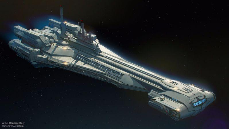 Star Wars Galactic Starcruiser Resort art