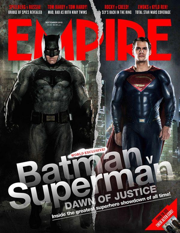 <strong><em>Batman v Superman: Dawn of Justice</em></strong> Empire Magazine Cover