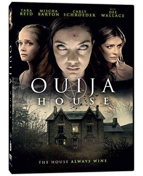 <strong><em>Ouija House</em></strong> DVD cover