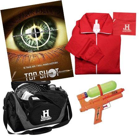 Win Huge Prizes from <strong><em>Top Shot</em></strong>