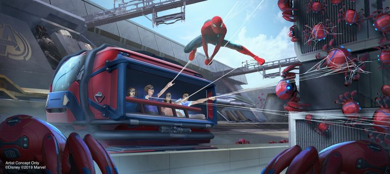 Avengers Land Disney Parks #3
