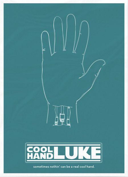 Cool Hand Luke Mashup Poster