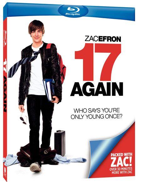 <strong><em>17 Again</em></strong> Blu-ray