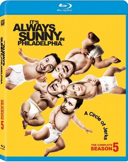 <strong><em>It's Always Sunny in Philadelphia</em></strong>: Season 5 Blu-ray artwork