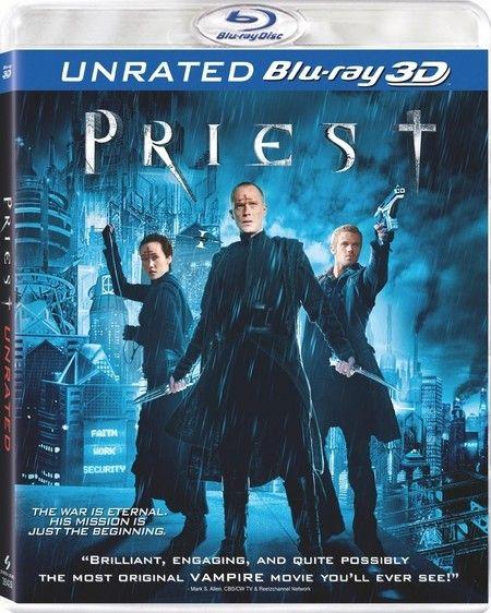 <strong><em>Priest</em></strong> 3D Blu-ray artwork