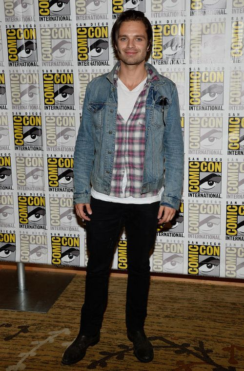 Sebastian Stan appeared at Comic-Con 2013 during the Marvel panel