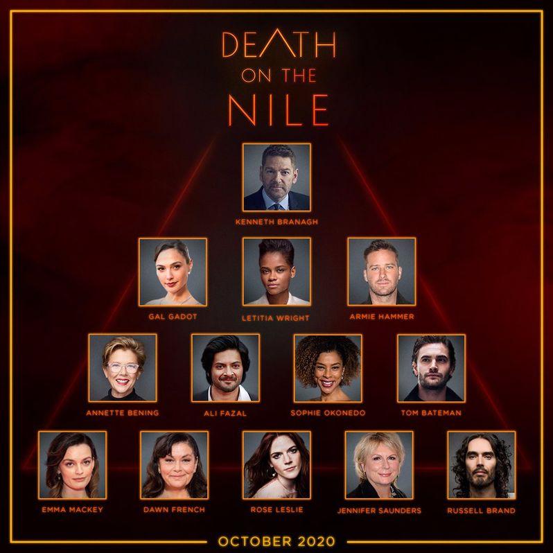 <strong><em>Death on the Nile</em></strong> cast