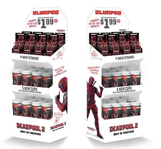<strong><em>Deadpool 2</em></strong> 7-Eleven Display
