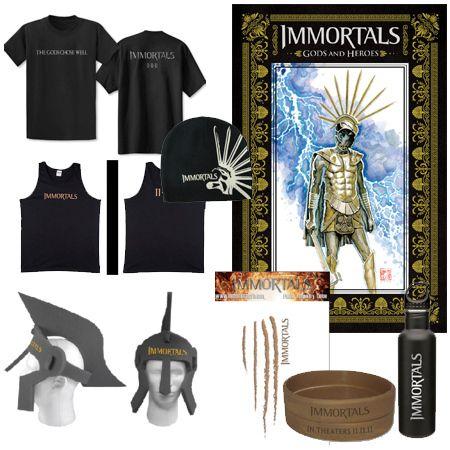 <strong><em>Immortals</em></strong> Giveaway