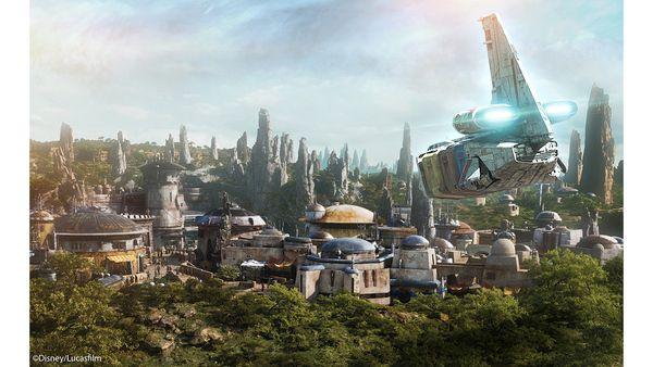 Star Wars: Galaxy's Edge Batuu Photo