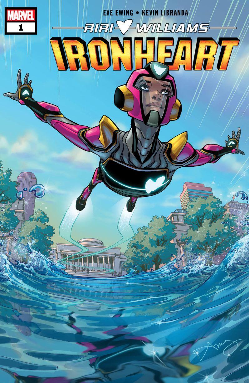 Marvel <strong><em>Ironheart</em></strong> comic book preview image #1