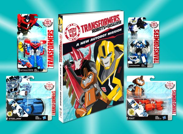 Transformers: Robots In Disguise A New Autobot Mission Contest Prizes