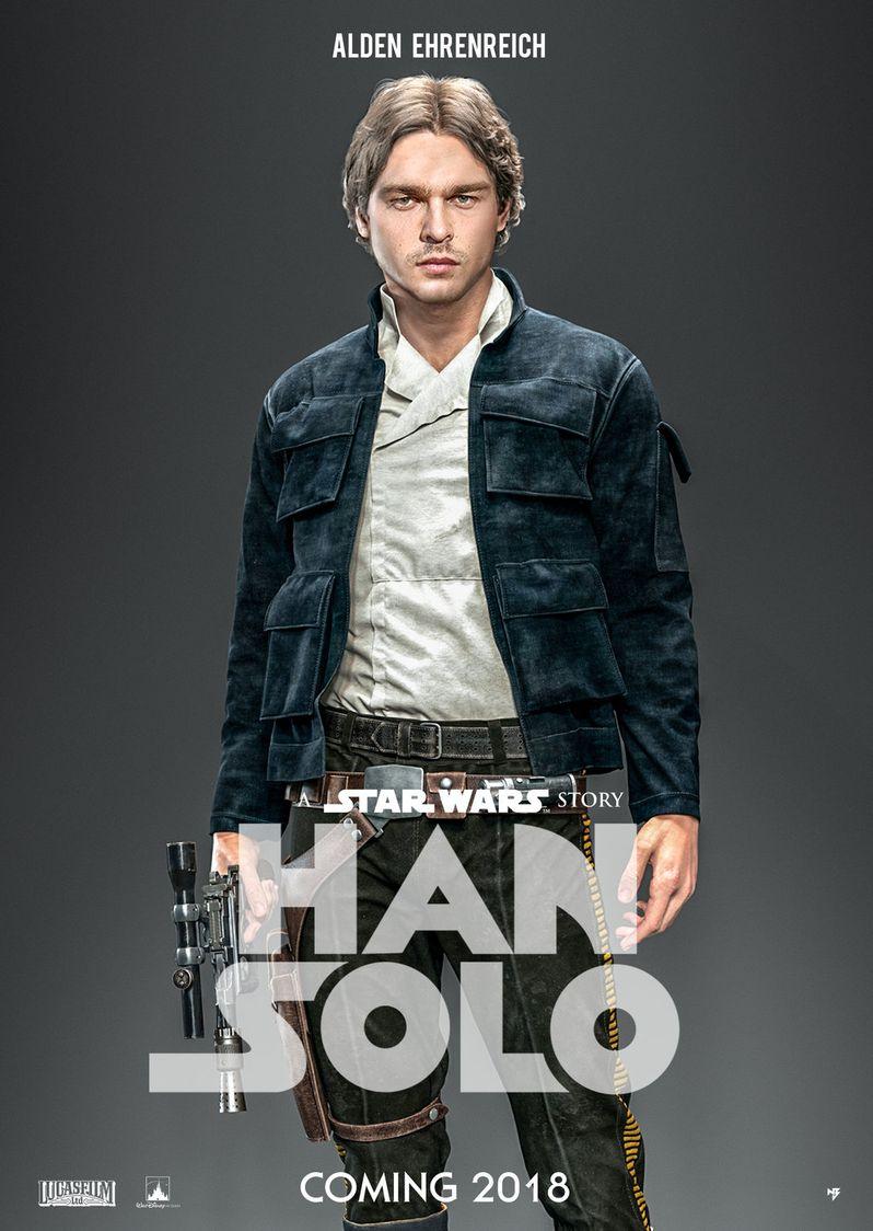Han Solo Fan Poster