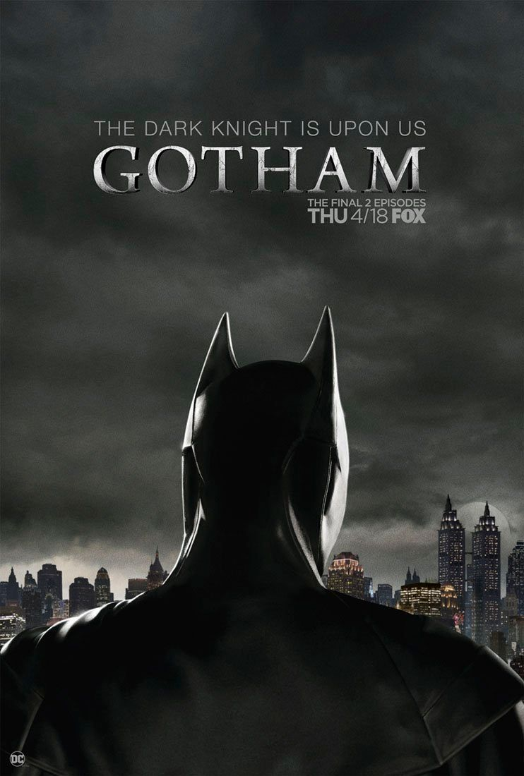 <strong><em>Gotham</em></strong> Dark Knight Poster