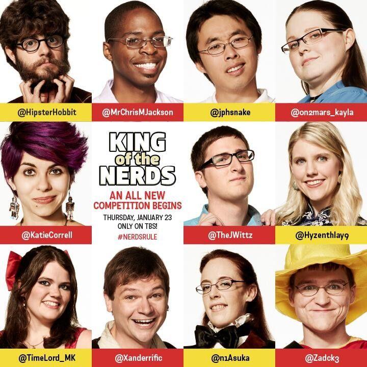 <strong><em>King of the Nerds</em></strong> Season 2 Cast