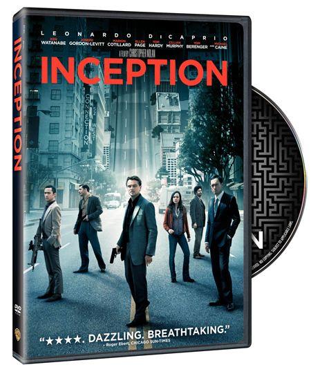 <strong><em>Inception</em></strong> DVD Artwork