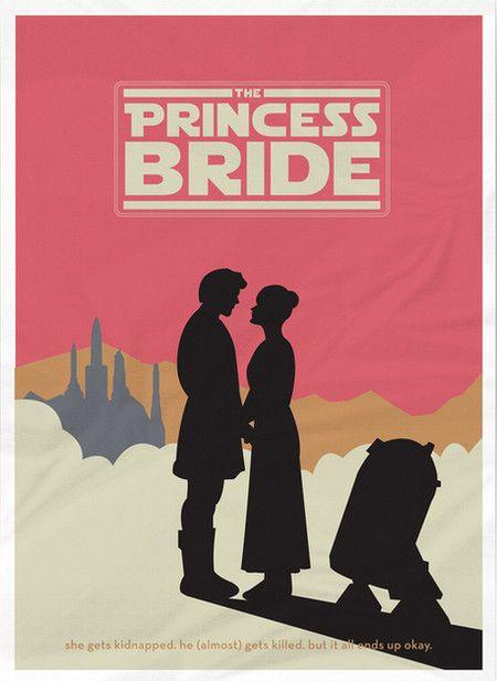 The Princess Bride Mashup Poster