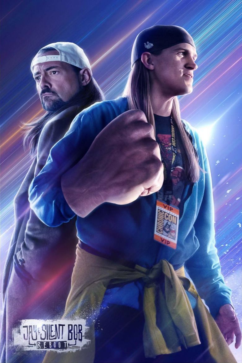 <strong><em>Jay and Silent Bob Reboot</em></strong> Poster Avengers Endgame Style