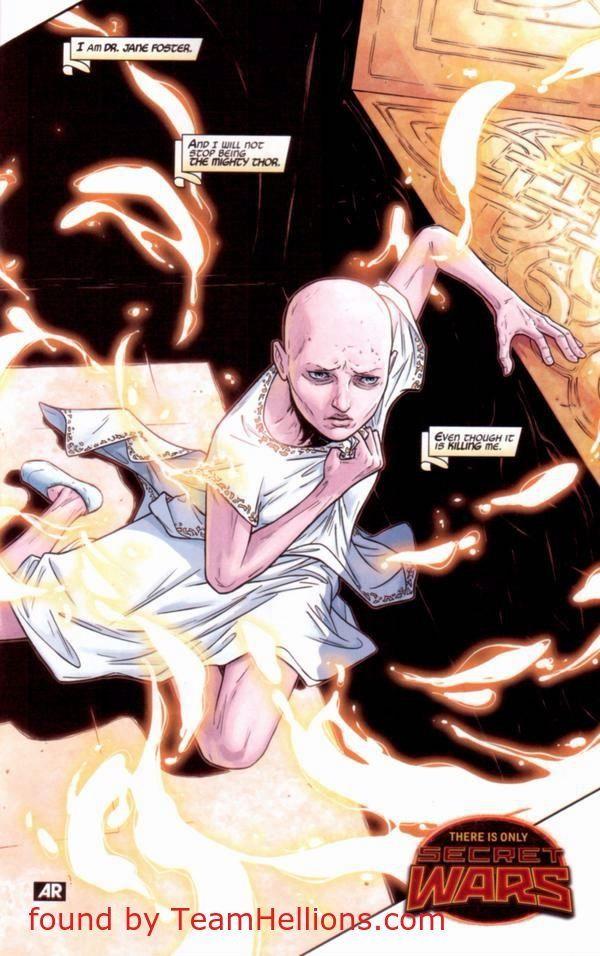 Female Thor Comic Panel 2