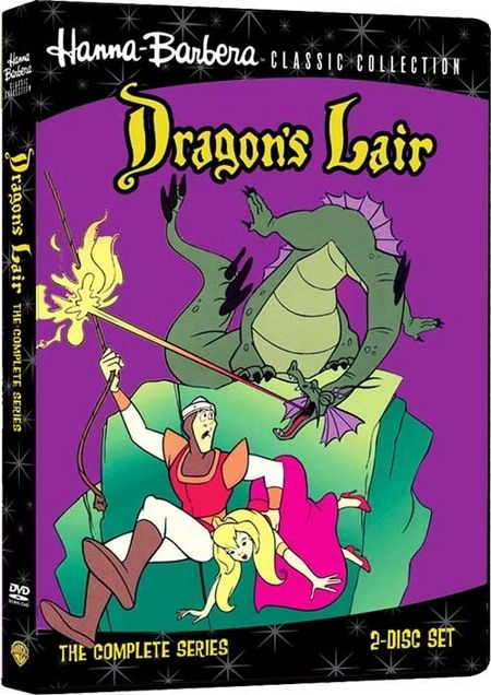 <strong><em>Dragon's Lair</em></strong>: The Complete Series DVD artwork