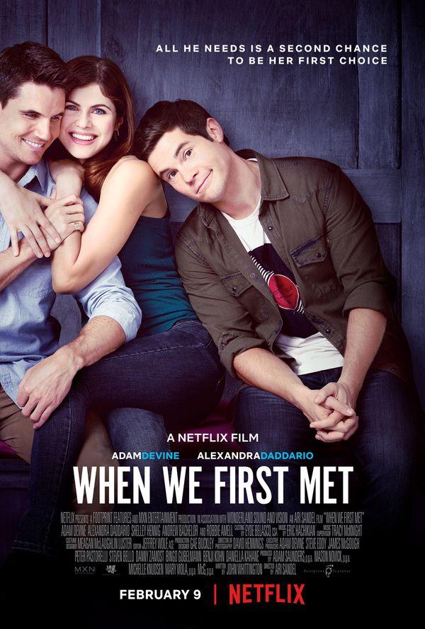 <strong><em>When We First Met</em></strong> Poster