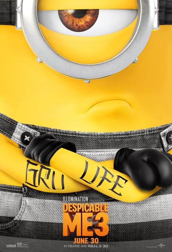 <strong><em>Despicable Me 3</em></strong> Minion Poster 2