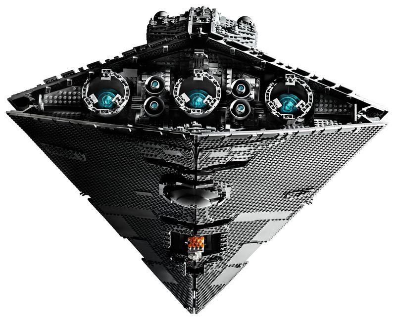 Star Wars Star Destroyer Lego Set Image #4