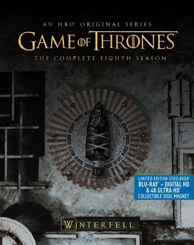 <strong><em>Game of Thrones</em></strong> Season 8 DVD Steelbook