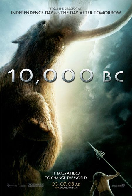 <strong><em>10,000 B.C.</em></strong> Movie Poster Revealed