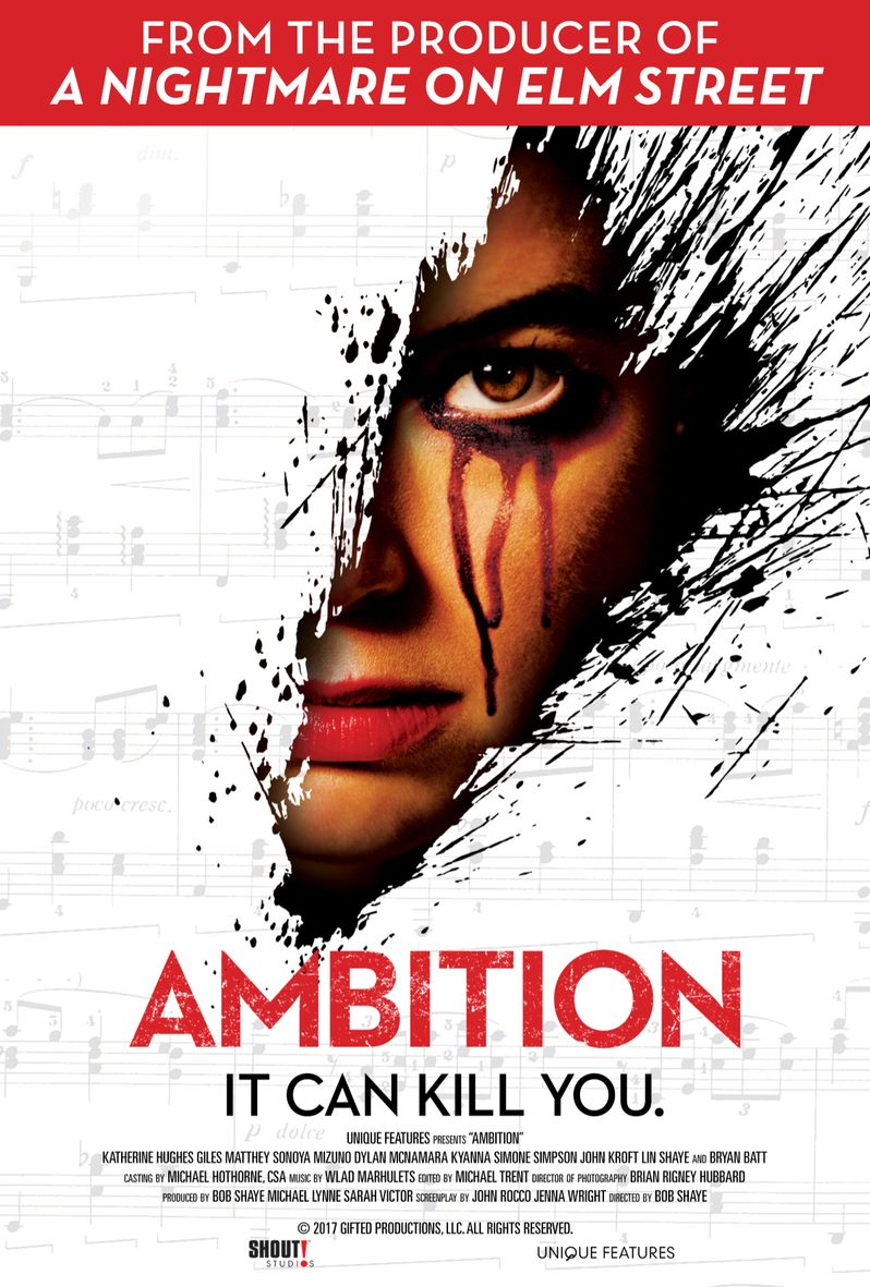 <strong><em>Ambition</em></strong> movie poster 2019