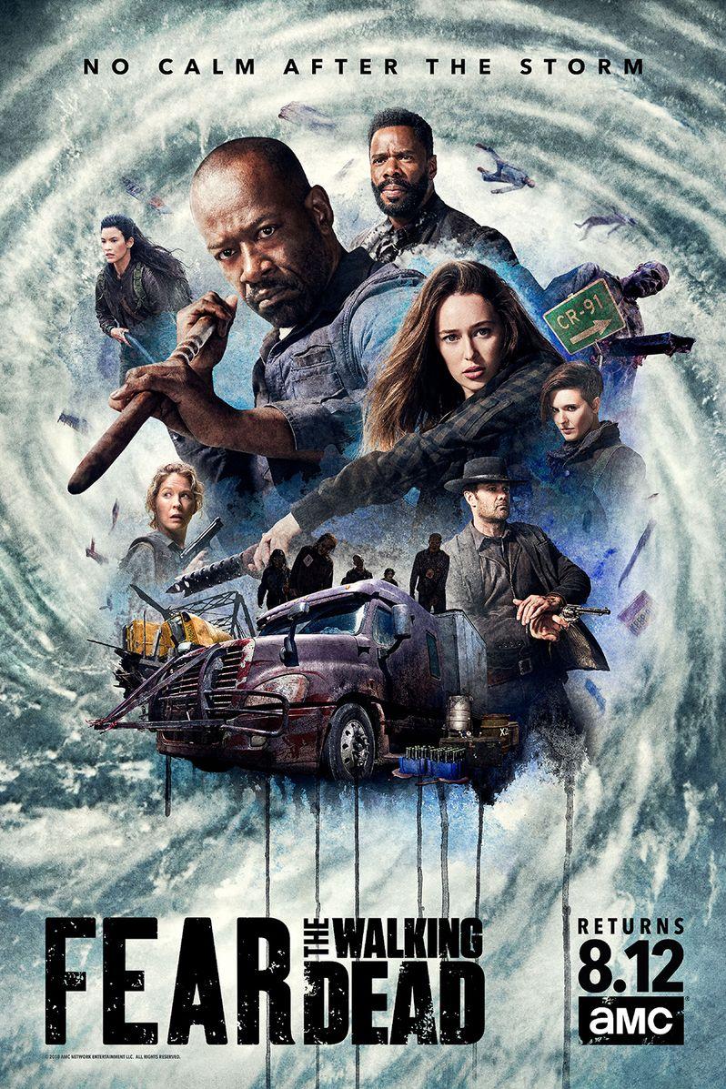 Fear <strong><em>The Walking Dead</em></strong> Season 4 Part 2 poster