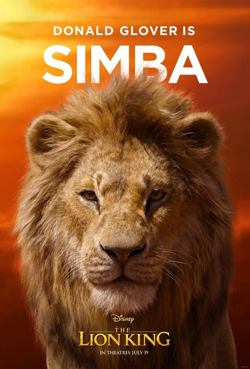 <strong><em>The Lion King</em></strong> Simba Poster #1