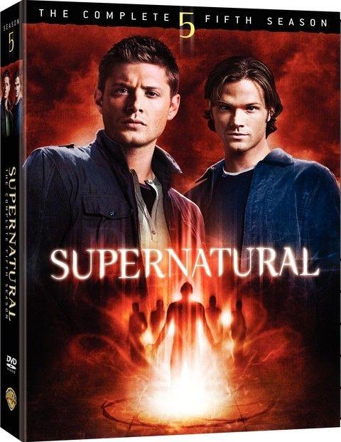 <strong><em>Supernatural</em></strong>: The Complete Fifth Season DVD artwork