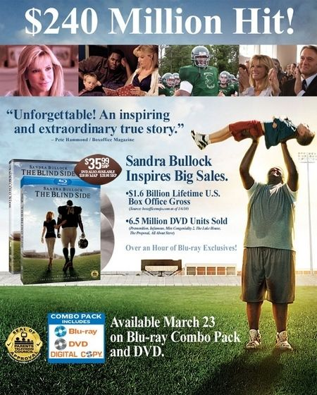 The Blind Side DVD/Blu-ray