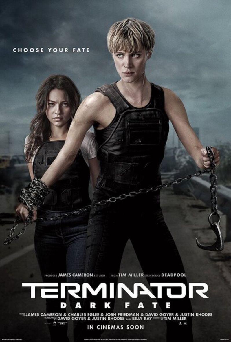 Terminator Dark Fate Character Poster Mackenzie Davis & Natalia Reyes