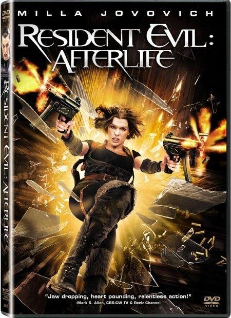 <strong><em>Resident Evil: Afterlife</em></strong> DVD artwork