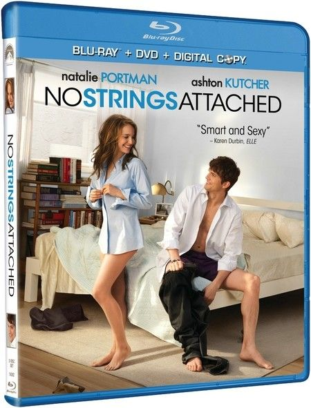 <strong><em>No Strings Attached</em></strong> Blu-ray artwork