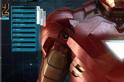 Iron Man 2 Website #2