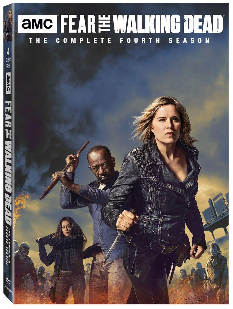 <strong><em>Fear the Walking Dead</em></strong> DVD Cover Art