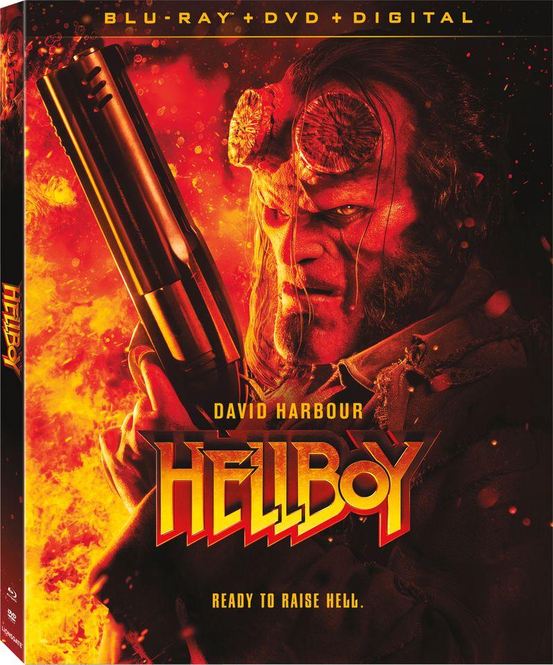 <strong><em>Hellboy</em></strong> 2019 Blu-ray