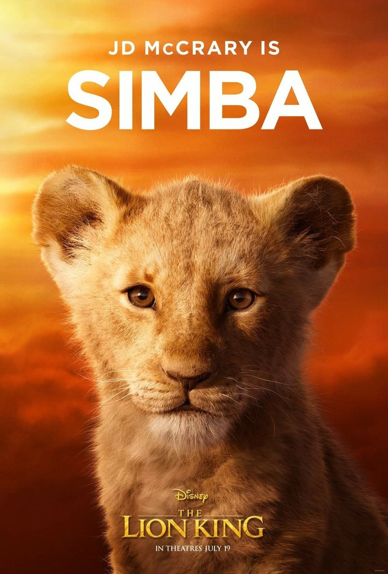 <strong><em>The Lion King</em></strong> Simba Poster #2