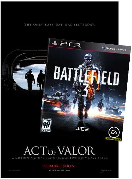 <strong><em>Act of Valor</em></strong>, Battlefield 3 Contest