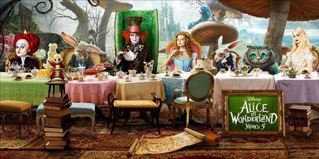 <strong><em>Alice in Wonderland</em></strong> banner art