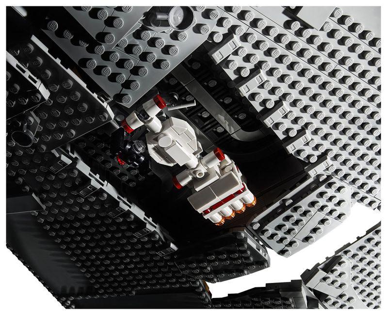Star Wars Star Destroyer Lego Set Image #6