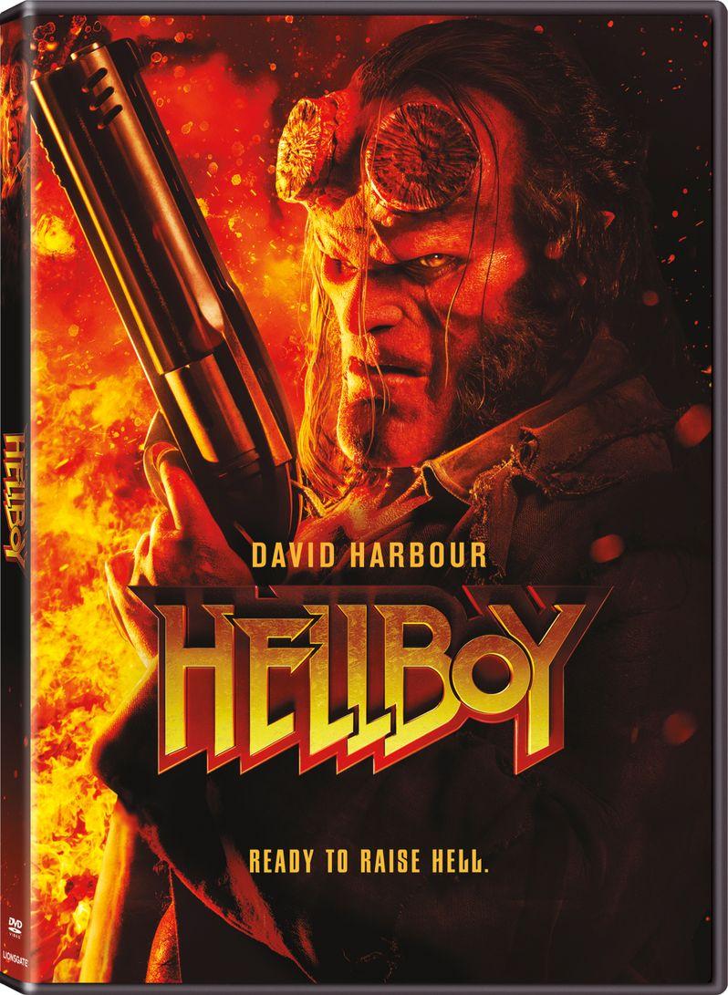 <strong><em>Hellboy</em></strong> 2019 DVD