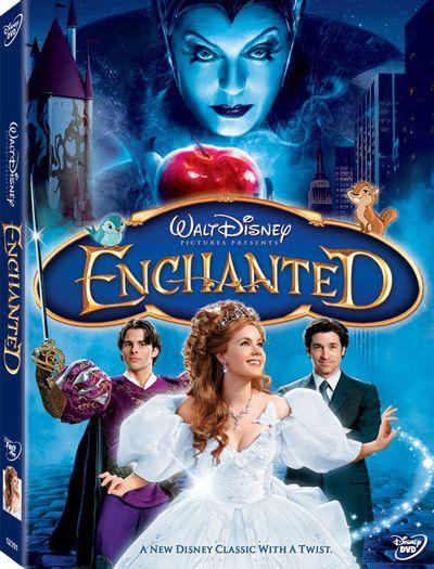 <strong><em>Enchanted</em></strong> DVD